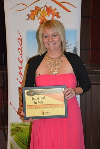 Kristen Lovett Accounting Services - Highly Commended - Business of the Year