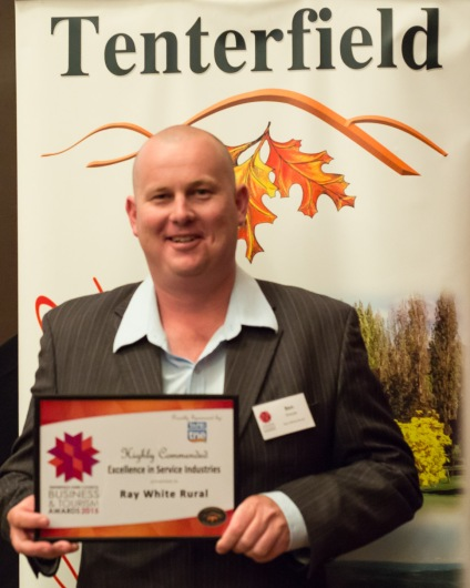 Ray White Rural - Highly Commended Excellence in Service Industries Sponsored by TAFE New England