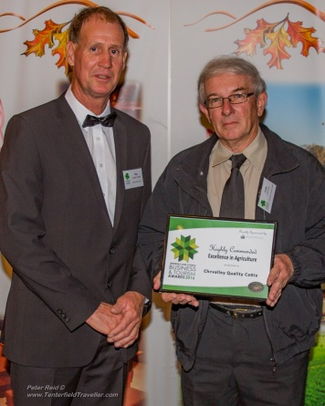 Chevalley Quality cattle. Highly Commended Excellence in Agriculture, sponsored by Mountain Blue Farms