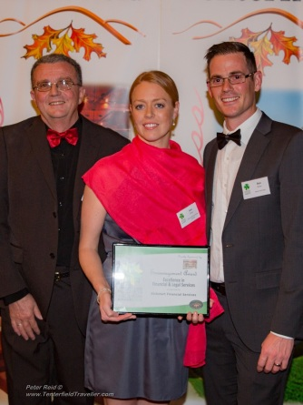 Kickstart Finance Education, Encouragement Award Excellence in Financial & Legal Services, sponsored by Tenterfield Tours