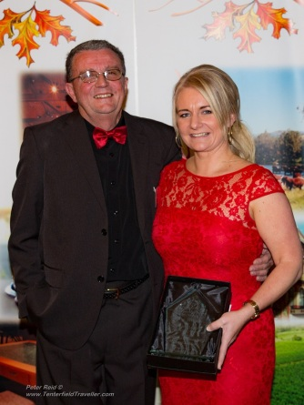Kristen Lovett Accounting Services, WINNER Excellence in Financial & Legal Services, sponsored by Tenterfield Tours