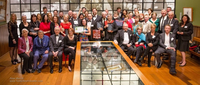 Congratulations to all award winners at the 2016 Business & Tourism Excellence Awards — at Tenterfield School of Arts.